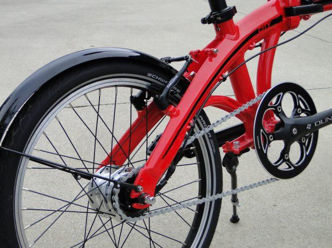 Ryme Bikes City Detalle 1