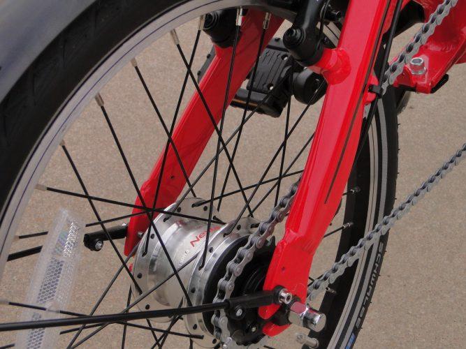 Ryme Bikes City Detalle 2